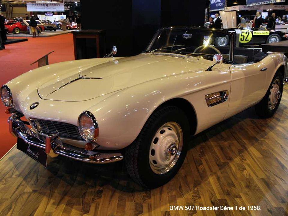 BMW 507 Roadster Série II de 1958.