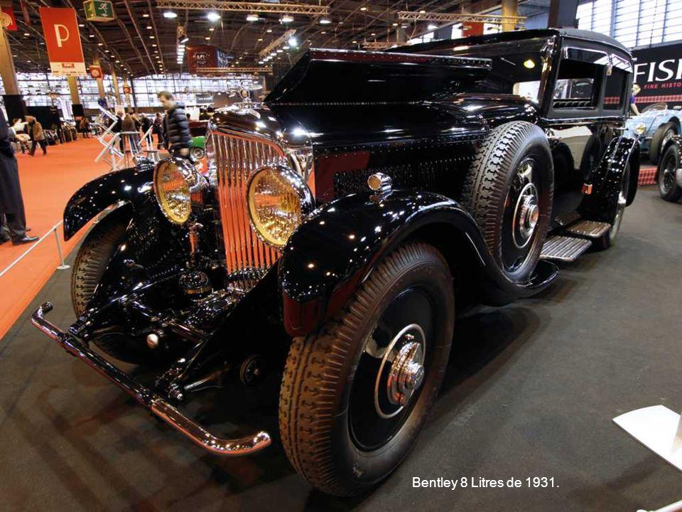 Bentley 8 Litres de 1931.