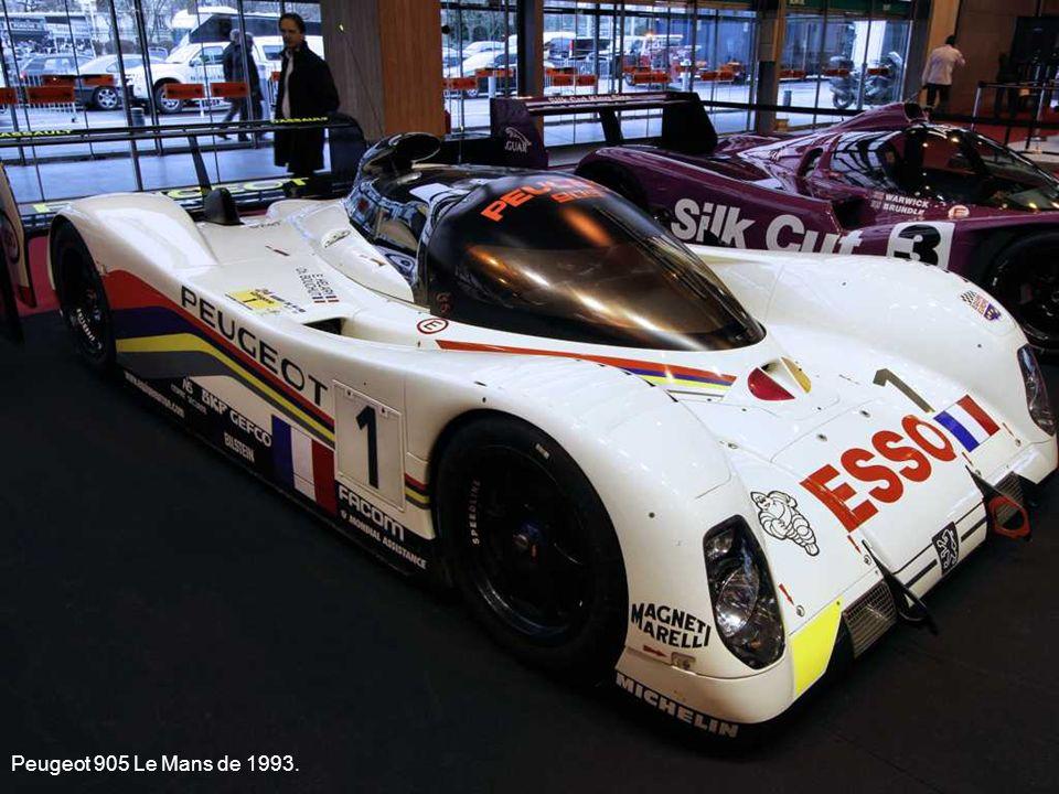 Peugeot 905 Le Mans de 1993.