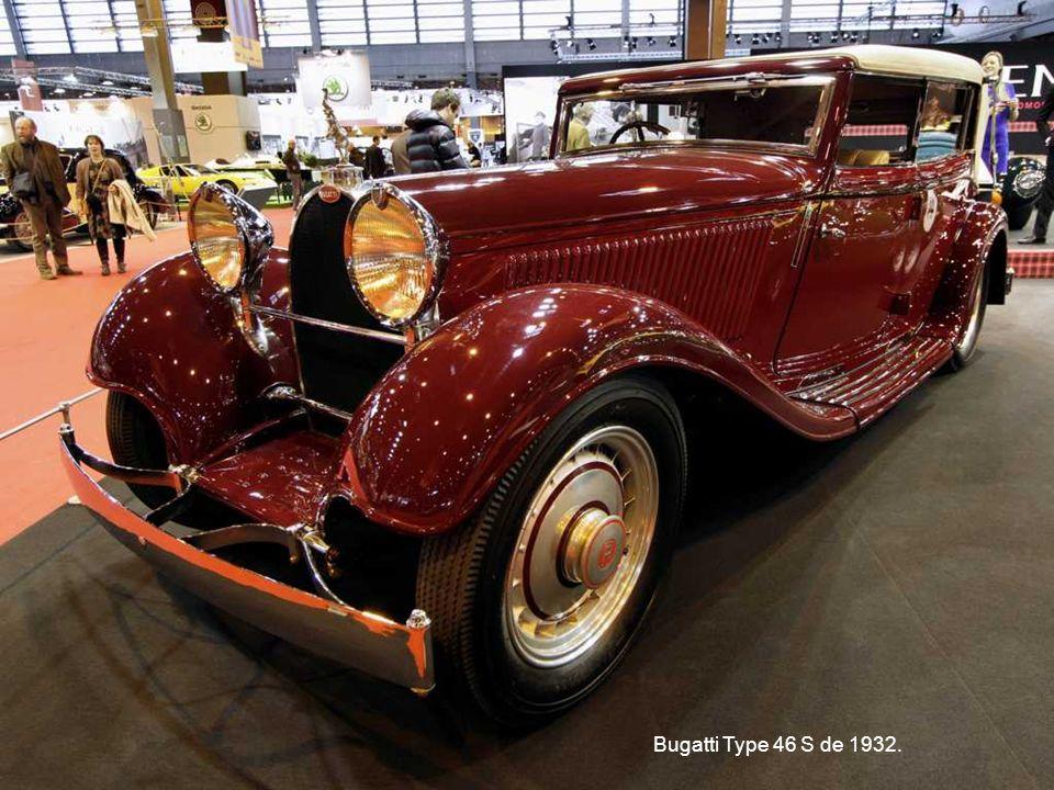 Bugatti Type 46 S de 1932.