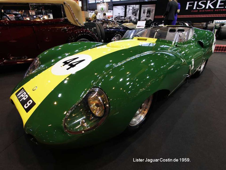 Lister Jaguar Costin de 1959.