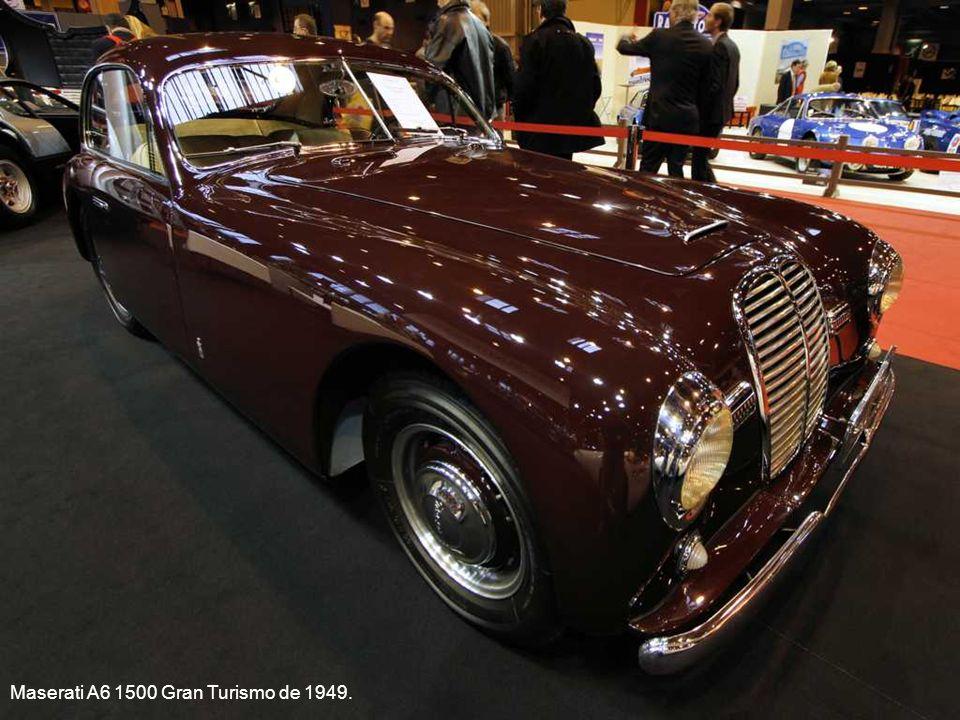 Maserati A6 1500 Gran Turismo de 1949.