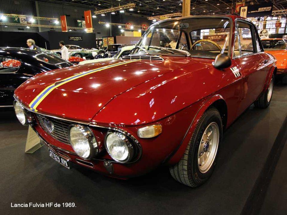 Lancia Fulvia HF de 1969.