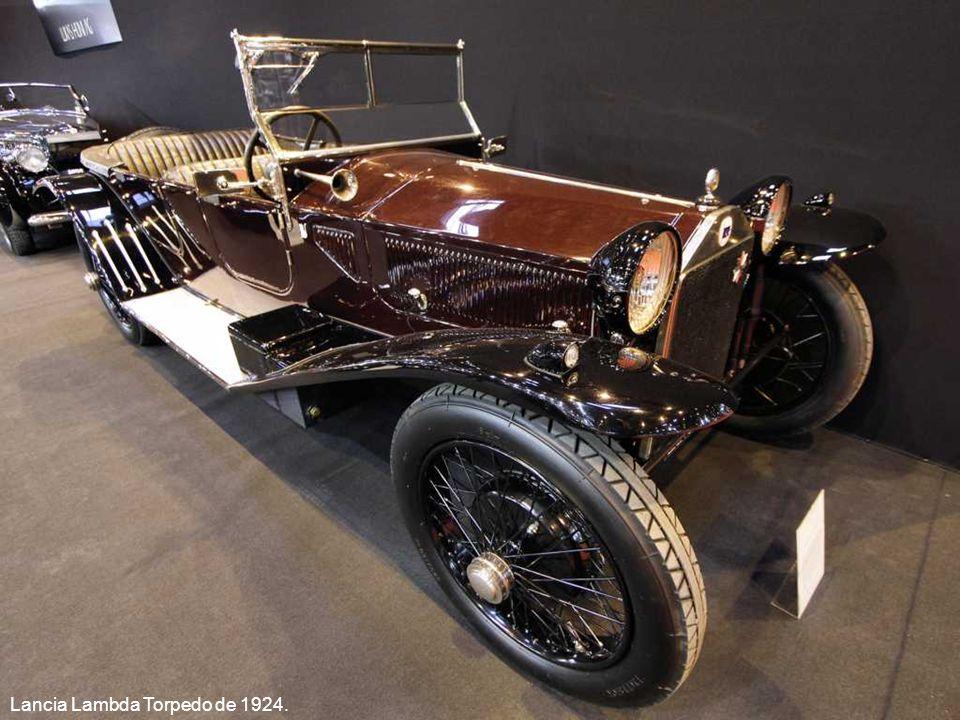 Lancia Lambda Torpedo de 1924.