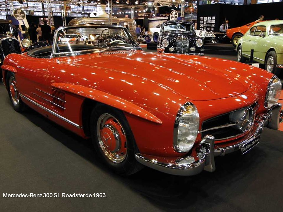 Mercedes-Benz 300 SL Roadster de 1963.