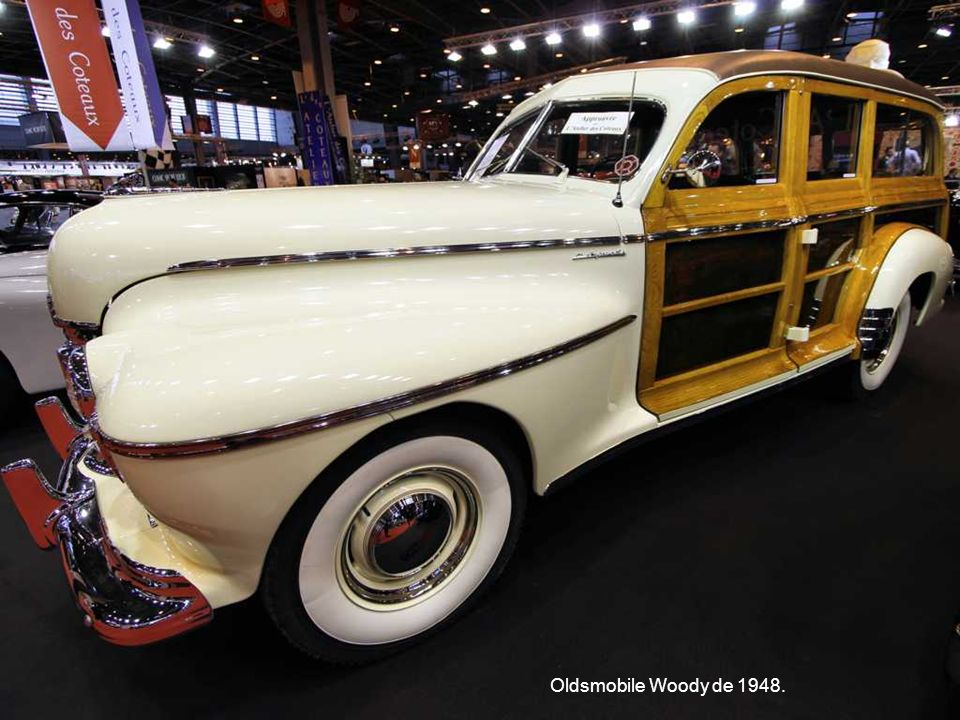 Oldsmobile Woody de 1948.