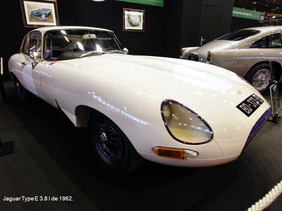 Jaguar Type E 3.8 l de 1962.