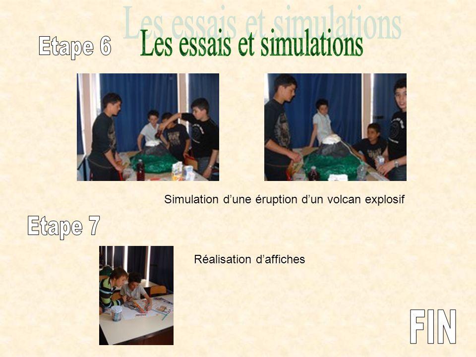 Les essais et simulations