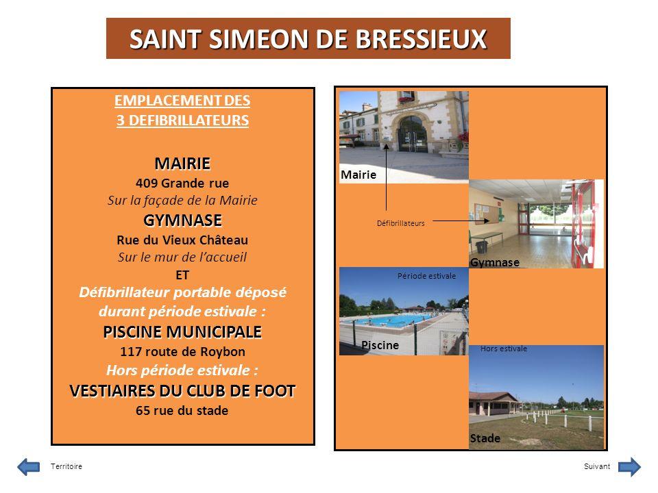 SAINT SIMEON DE BRESSIEUX