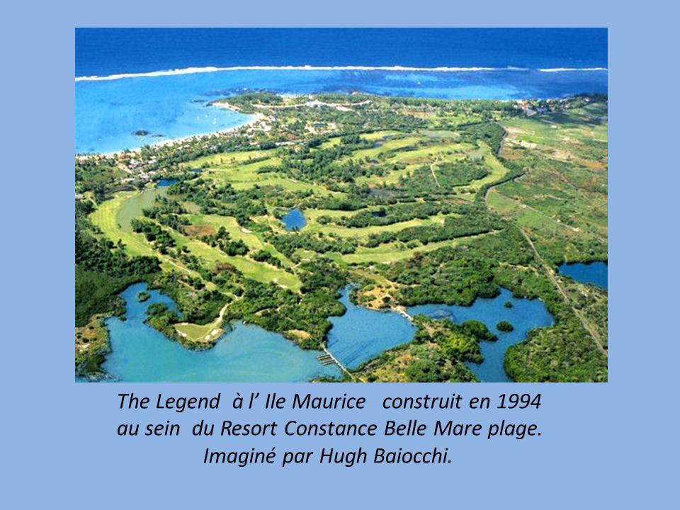 The Legend à l' Ile Maurice construit en 1994 au sein du Resort Constance Belle Mare plage.