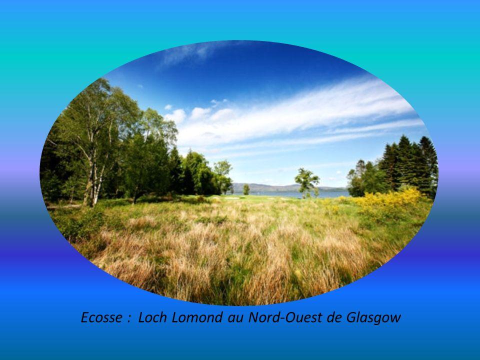 Ecosse : Loch Lomond au Nord-Ouest de Glasgow