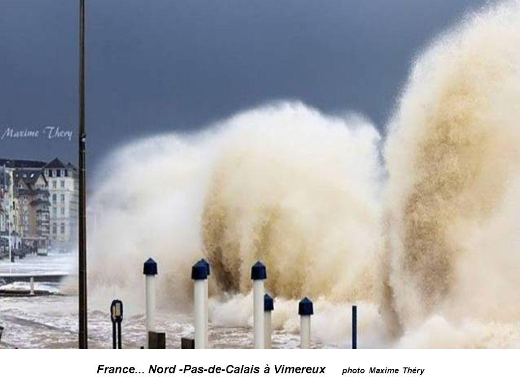 France... Nord -Pas-de-Calais à Vimereux photo Maxime Théry