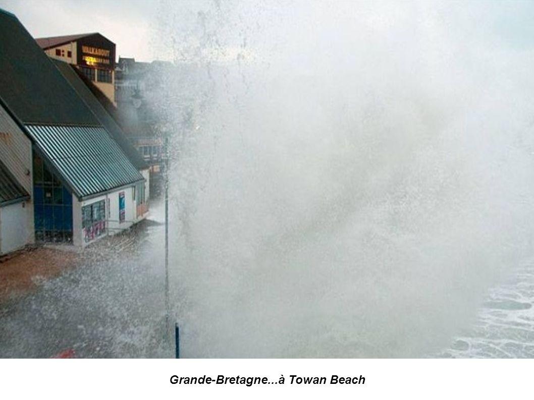 Grande-Bretagne...à Towan Beach