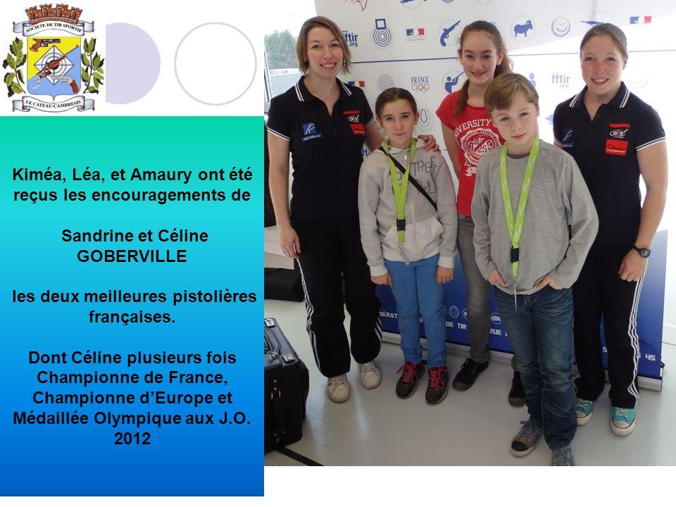 Kiméa, Léa, et Amaury ont été reçus les encouragements de