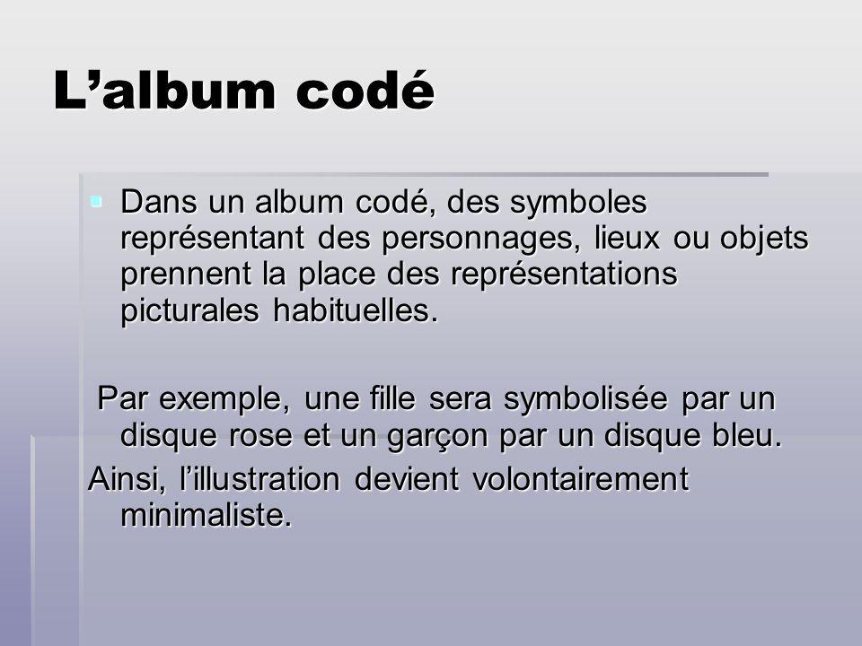 L'album codé