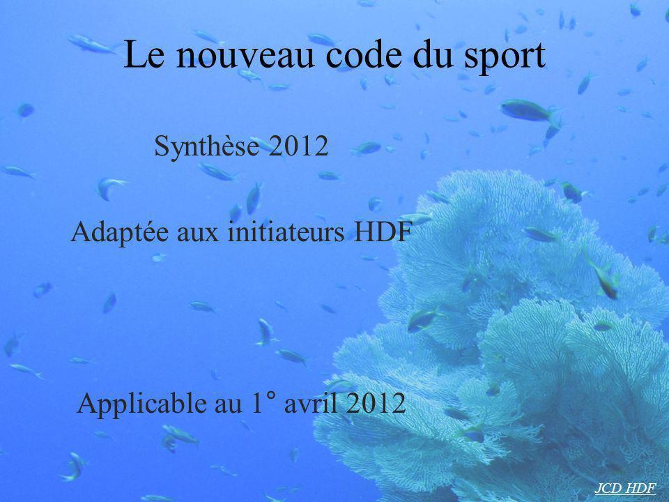 Le nouveau code du sport