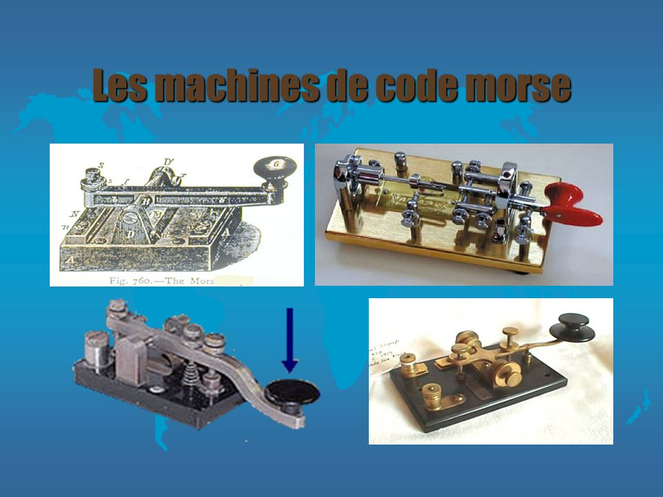 Les machines de code morse