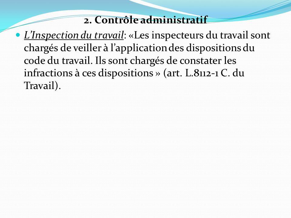 2. Contrôle administratif