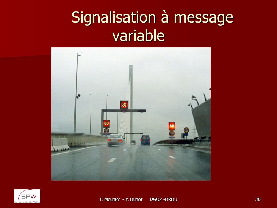 Signalisation à message variable