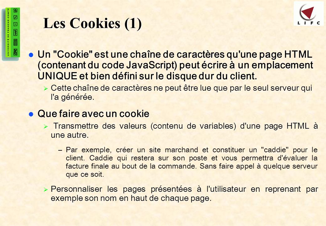 Les Cookies (1)