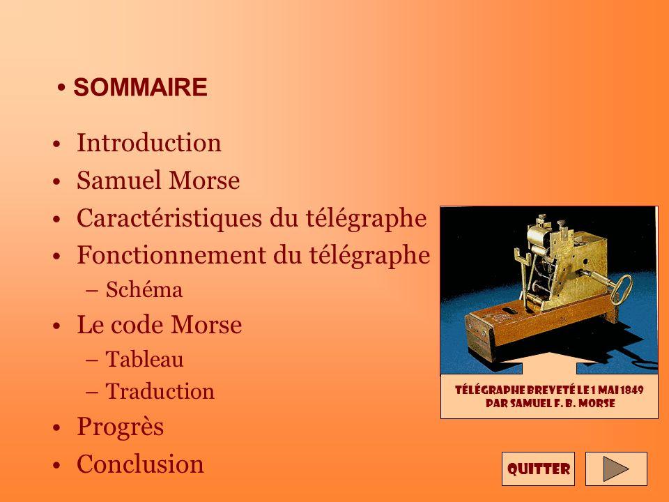 Télégraphe breveté le 1 mai 1849