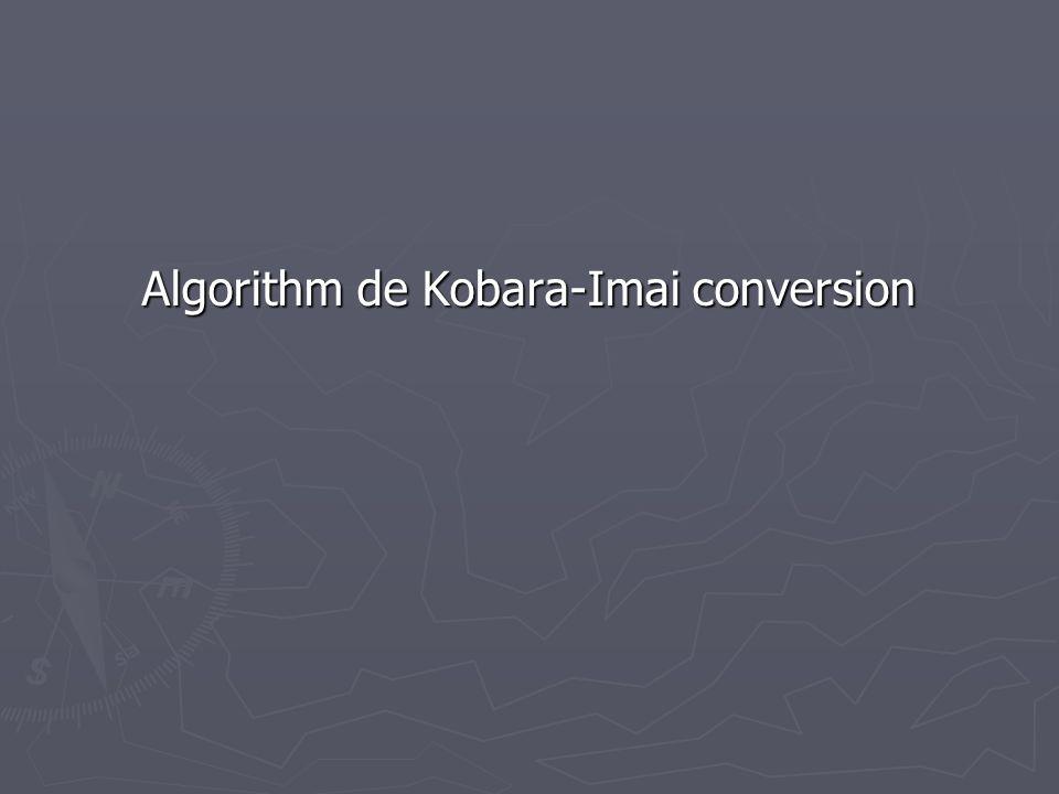 Algorithm de Kobara-Imai conversion