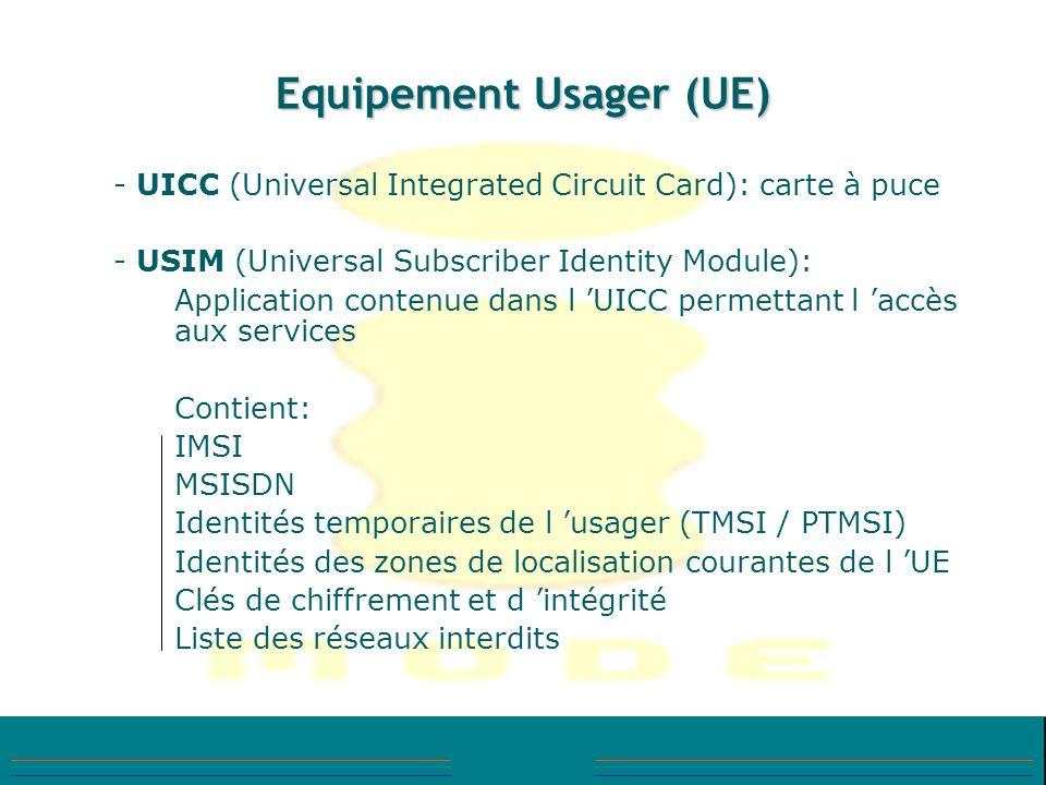 Equipement Usager (UE)