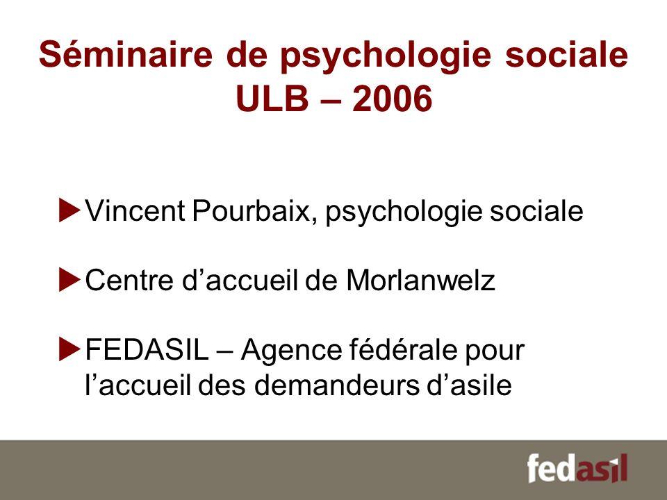 Séminaire de psychologie sociale ULB – 2006