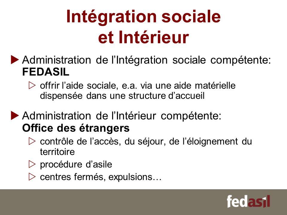 Intégration sociale et Intérieur