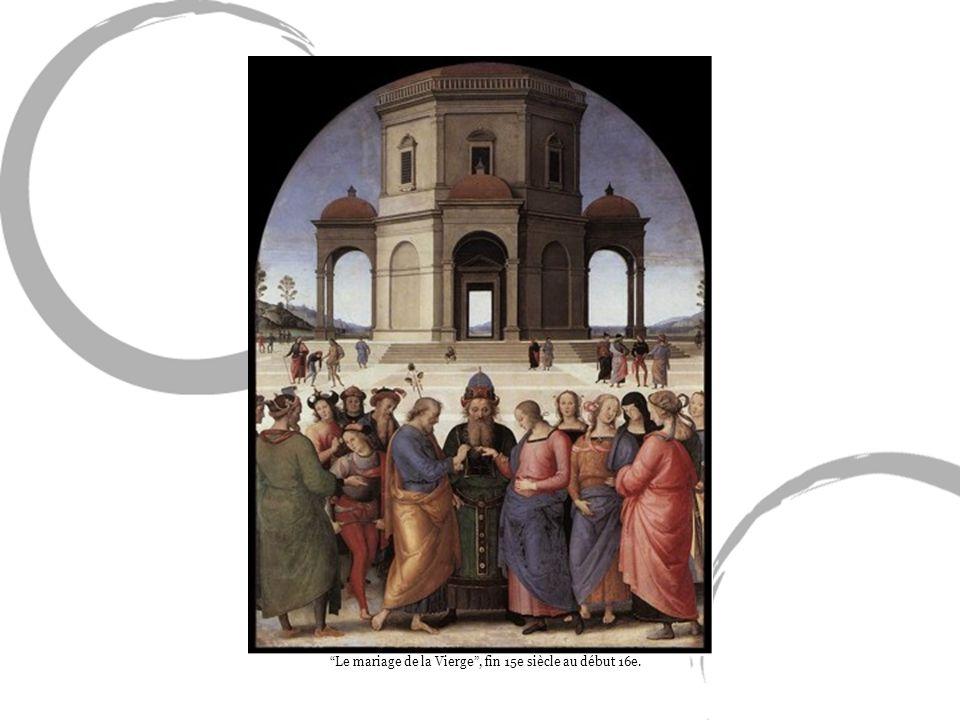 Le mariage de la Vierge , fin 15e siècle au début 16e.