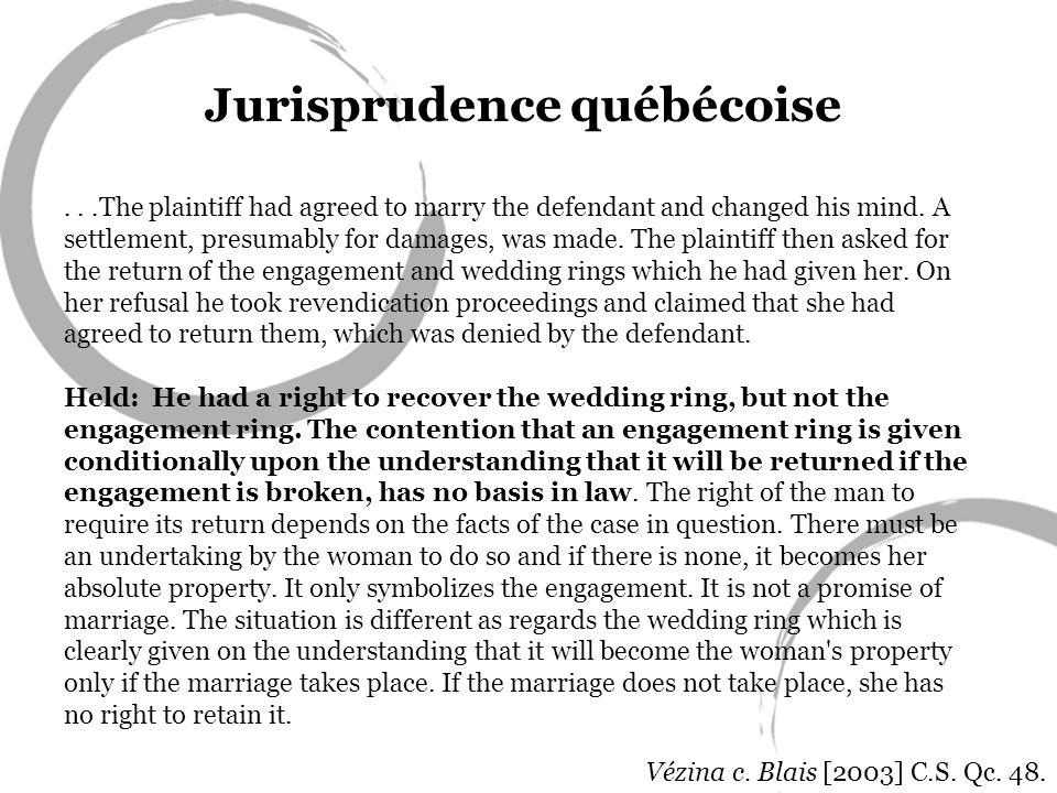 Jurisprudence québécoise