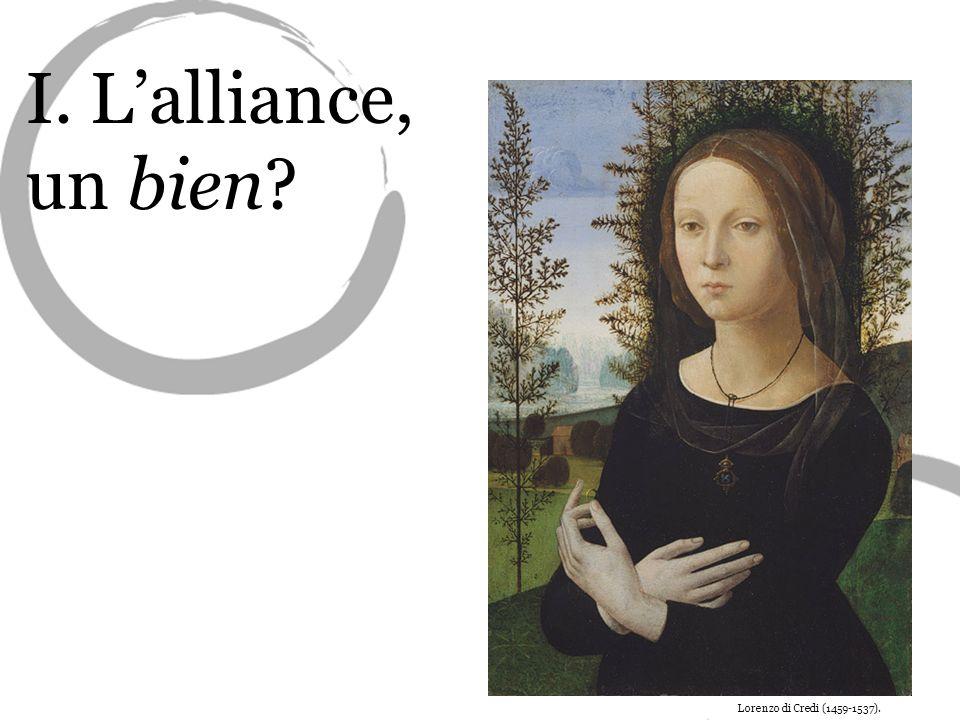 L'alliance, un bien Lorenzo di Credi (1459-1537).
