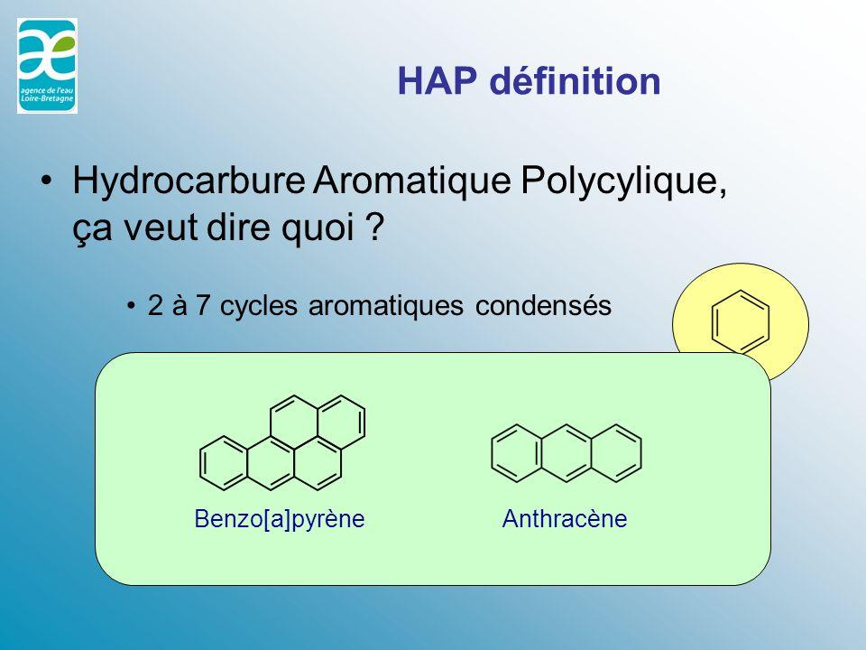 Hydrocarbure Aromatique Polycylique, ça veut dire quoi
