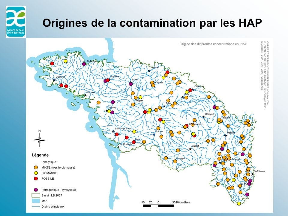 Origines de la contamination par les HAP