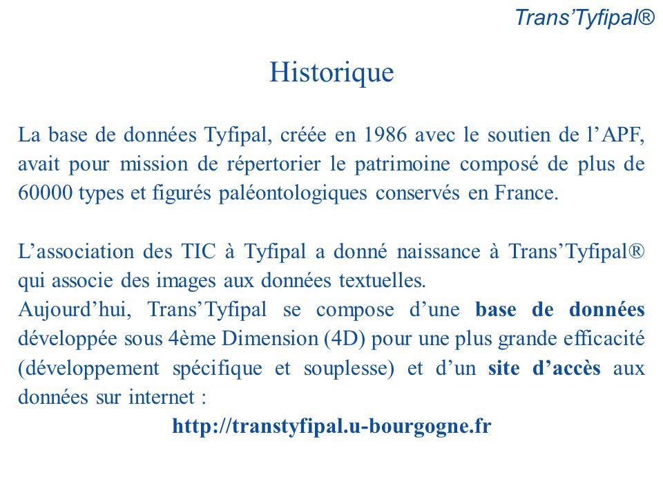 Historique Trans'Tyfipal®
