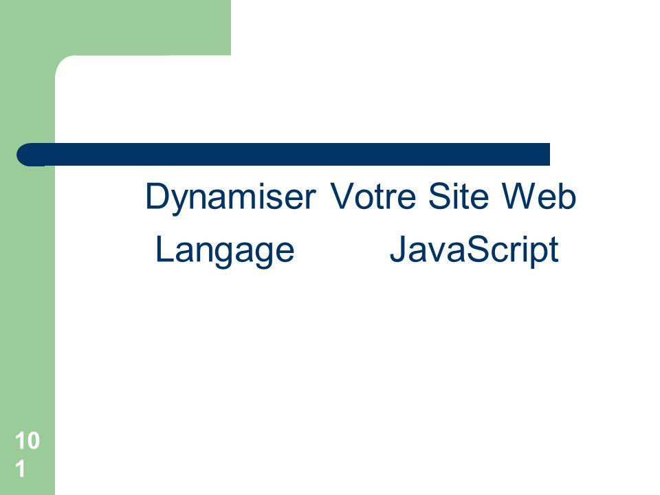 Dynamiser Votre Site Web