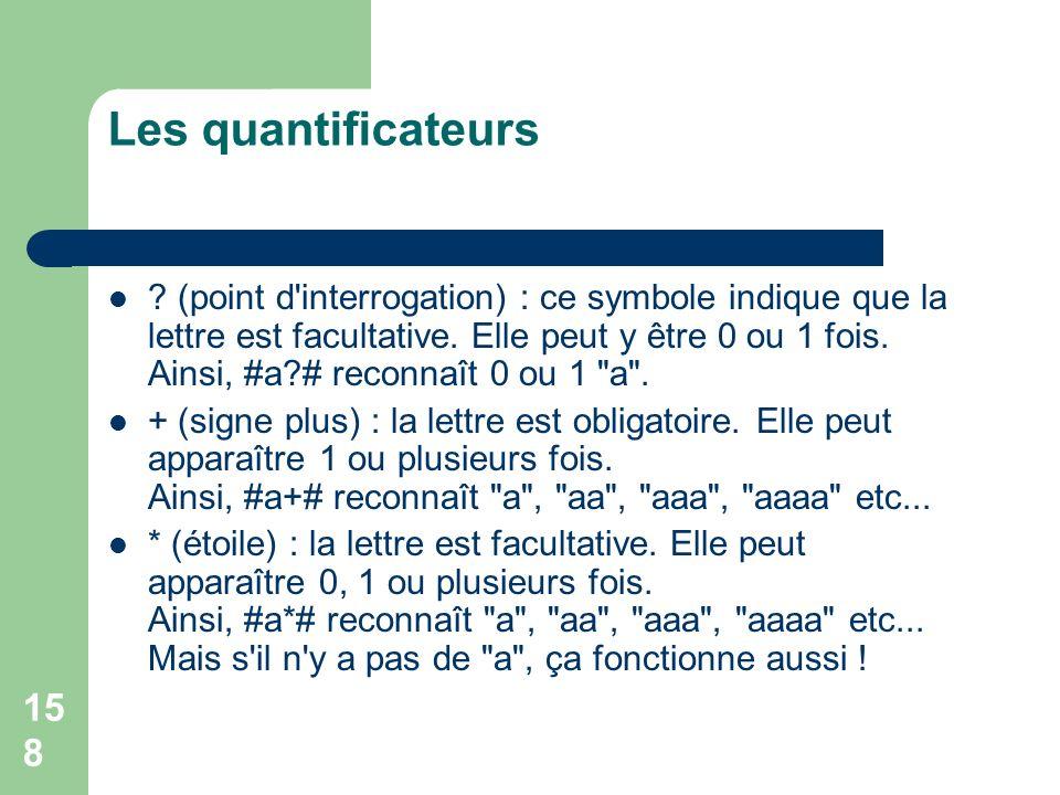 Les quantificateurs