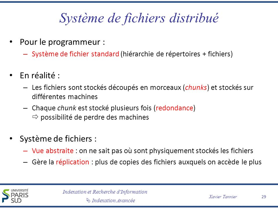 Système de fichiers distribué