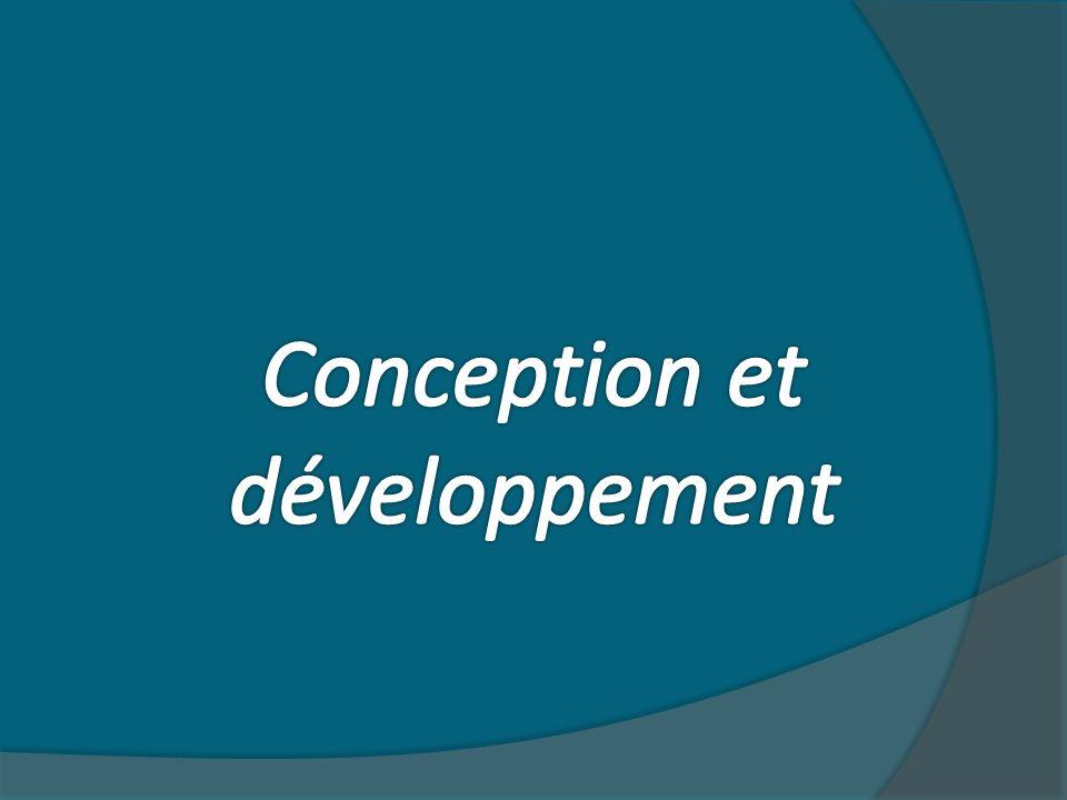 Conception et développement