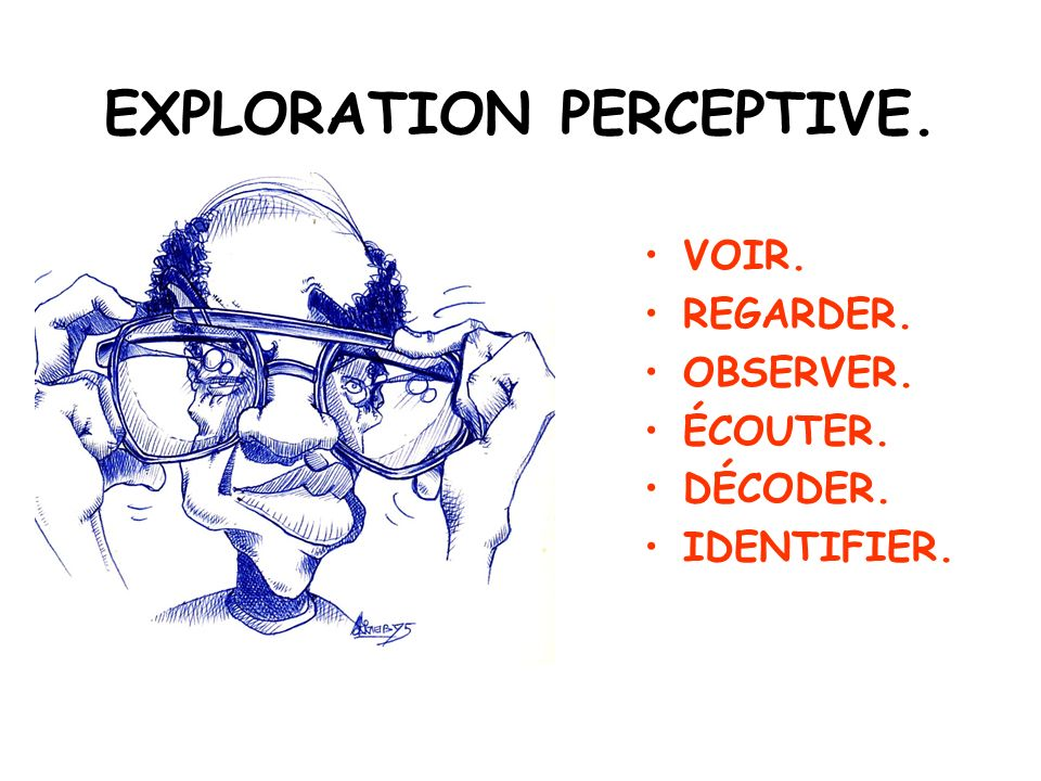 EXPLORATION PERCEPTIVE.