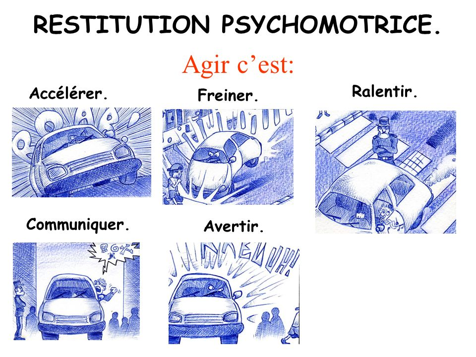 RESTITUTION PSYCHOMOTRICE.