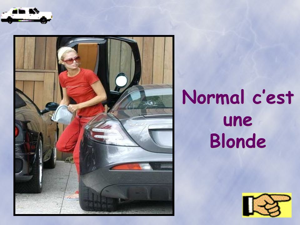 Normal c'est une Blonde