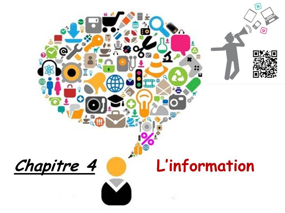 Chapitre 4 L'information