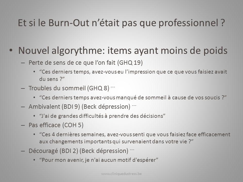 Et si le Burn-Out n'était pas que professionnel