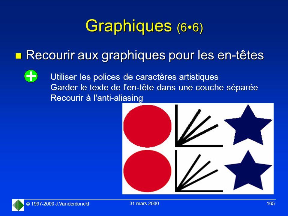 Graphiques (66) Recourir aux graphiques pour les en-têtes
