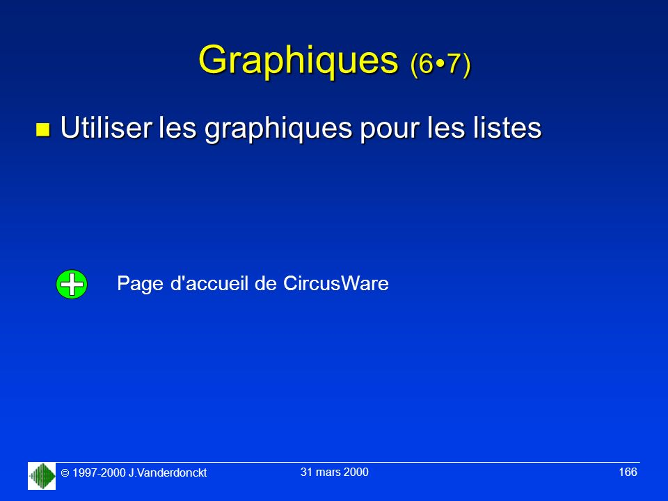 Graphiques (67) Utiliser les graphiques pour les listes