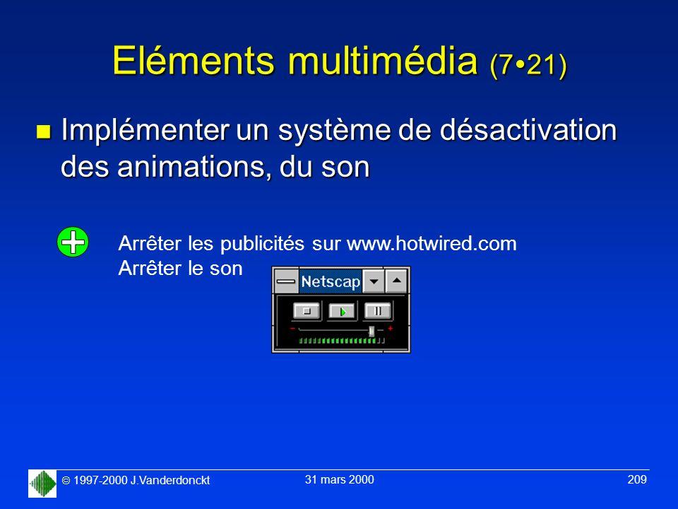 Eléments multimédia (721)