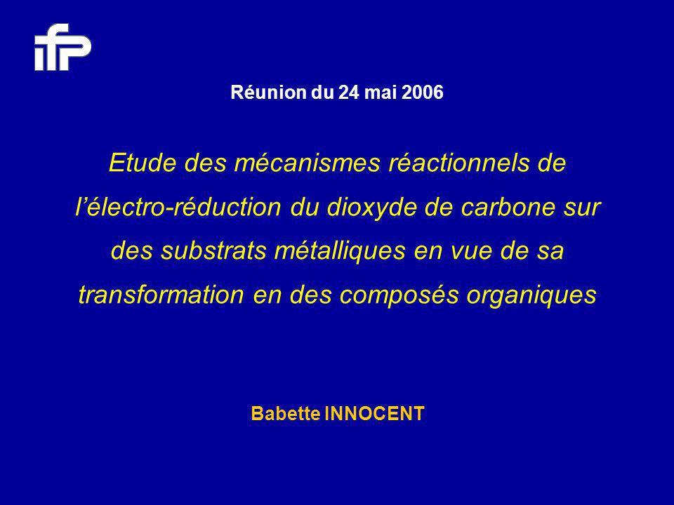 Réunion du 24 mai 2006