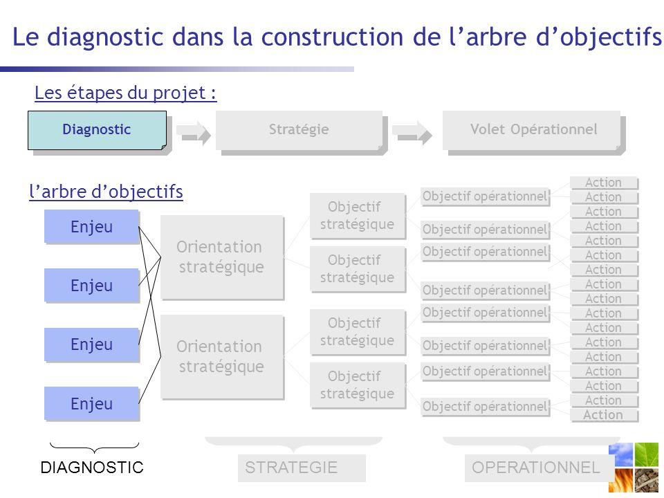 Le diagnostic dans la construction de l'arbre d'objectifs