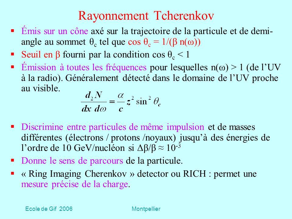 Rayonnement Tcherenkov